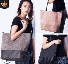 Korean version of the new fashion 100-tie stitching Todd double-style lady's leisure bag, one-shoulder portable mummy bag new style one shoulder bag leisure fashion nylon one shoulder women s leisure bag portable waterproof one shoulder bag tourism o