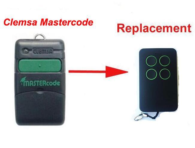 3pcs Clemsa Mastercode MV1 compatible Cloning Remote Control 433MHz clemsa mastercode mv1 compatible remote control 433mhz free shipping