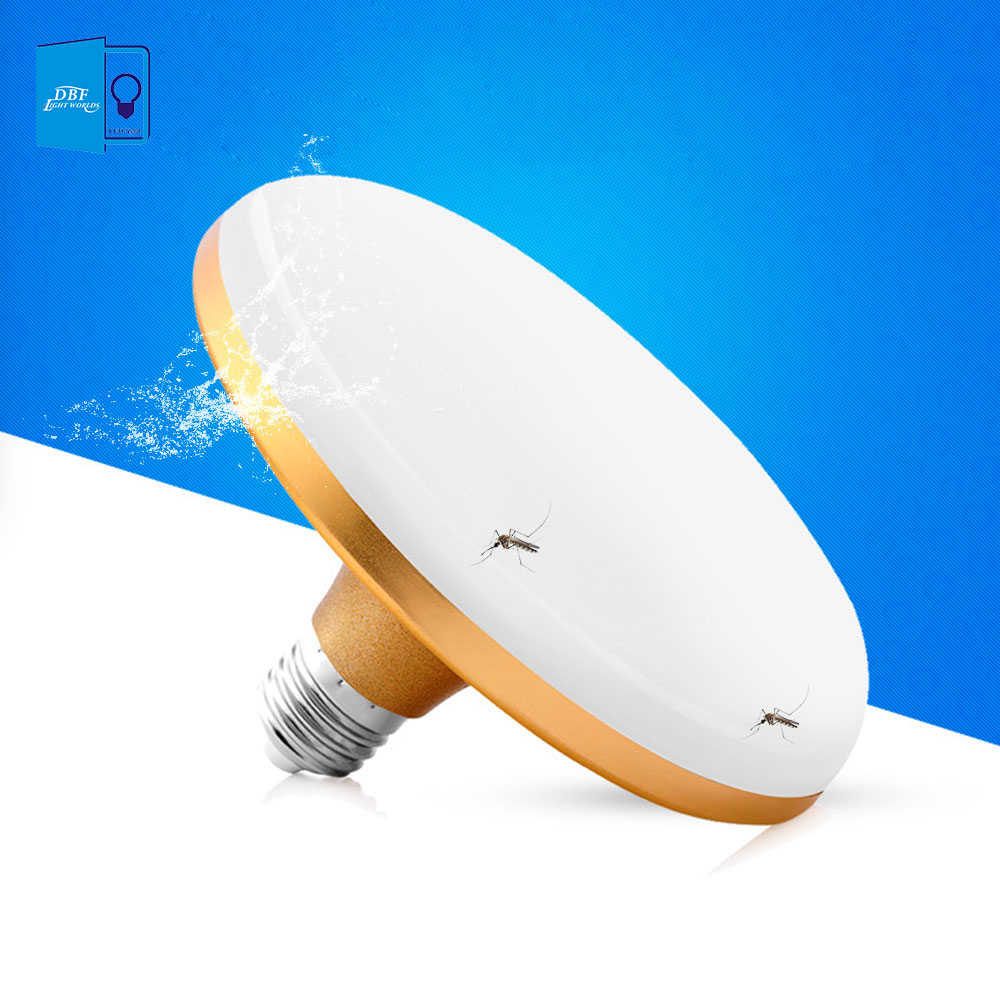цена на [DBF] High Power E27 LED Lamp 15W 20W 30W 40W 50W 60W SMD 5730 Flat LED Light Bulb 220V E27 UFO LED Light for Home Lighting
