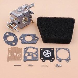 Image 1 - Kit de réparation de carburateur, filtre à Air et joint pour Mcculloch Mac 335 435 440 Partner 350 351, pièces de rechange pour tronçonneuse à gaz Walbro 33 29 Carb