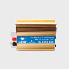 500W Solar Inverter Multifunctional Travel Power Supply Control Dual USB Car inverter DC 48V 60V AC 110V 220V Power Conversion