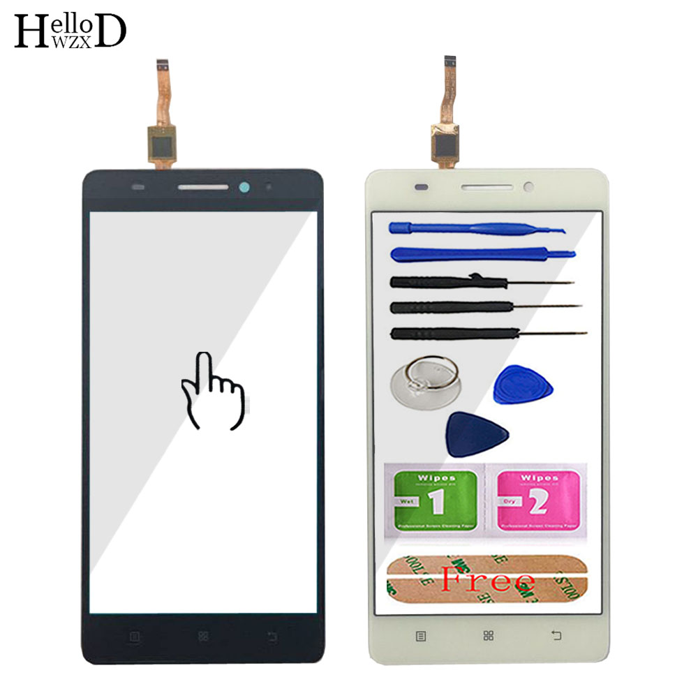 5.5'' Mobile Touch Glass TouchScreen For Lenovo S8 A7600 A7600M A7600-M Touch Screen Front Glass Digitizer Panel Sensor Tools