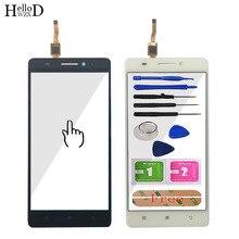 5.5 mobile mobile tela sensível ao toque de vidro móvel para lenovo s8 a7600 a7600m A7600 M tela sensível ao toque frontal painel digitador vidro sensor ferramentas