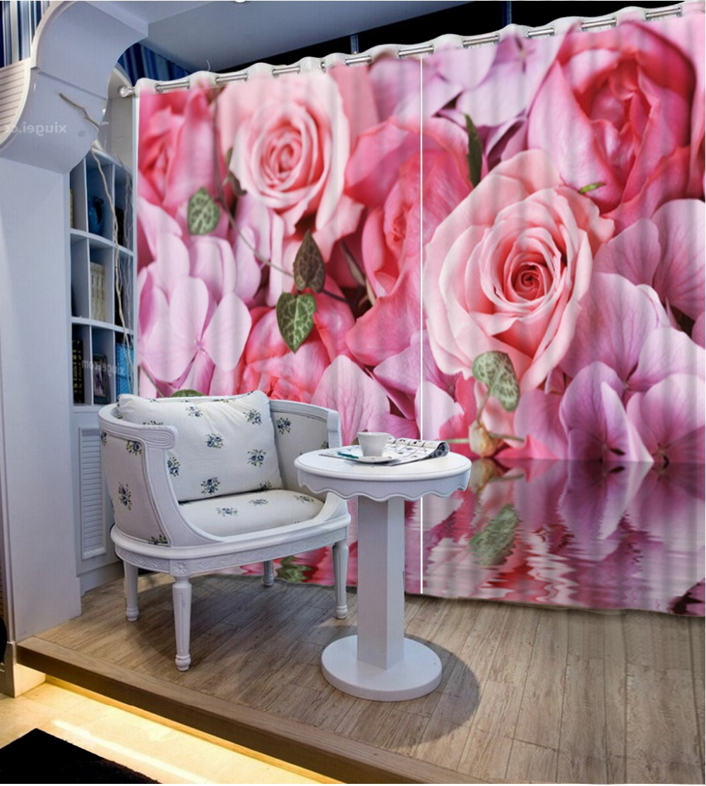 Pink Curtains For Bedroom Online Get Cheap Bedroom Pink Curtains Aliexpresscom Alibaba Group