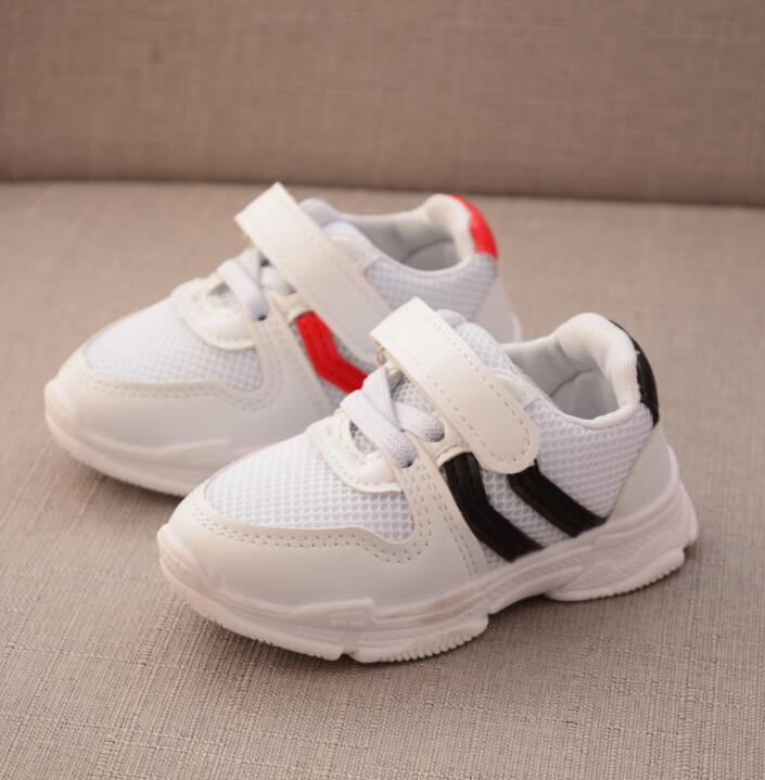 Spring Autumn Mesh Black Shoes Boy Kids Red Running Shoes Kids Sports Shoes for Children Princess Girls Shoes