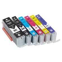 einkshop Compatible Ink Cartridges For PGI580 CLI581 , Canon Pixma TS6150 TR7550 TS8150 TR8550 TS9150 TS9155