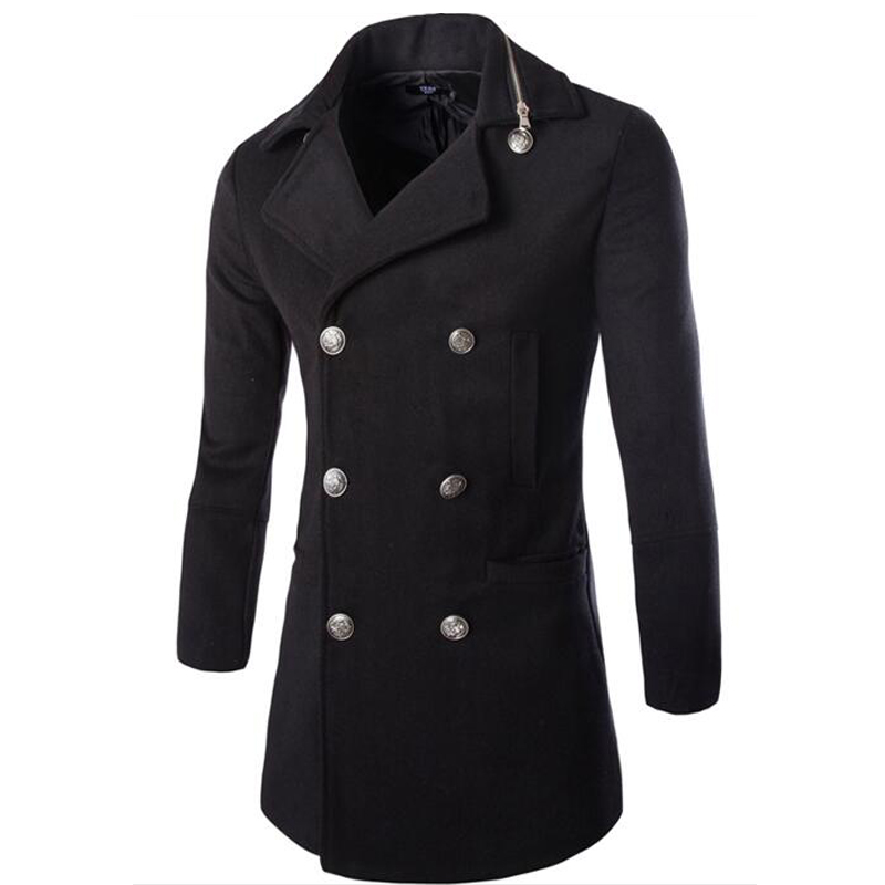 Compare Prices on Zipper Pea Coat- Online Shopping/Buy Low Price ...