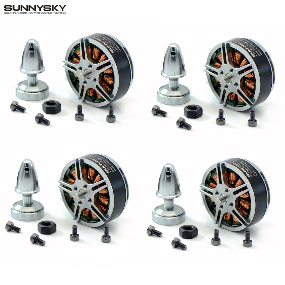 цена на 4set/lot Original SUNNYSKY V3508 380kv 580kv 700kv Brushless Motor for RC Multicopter