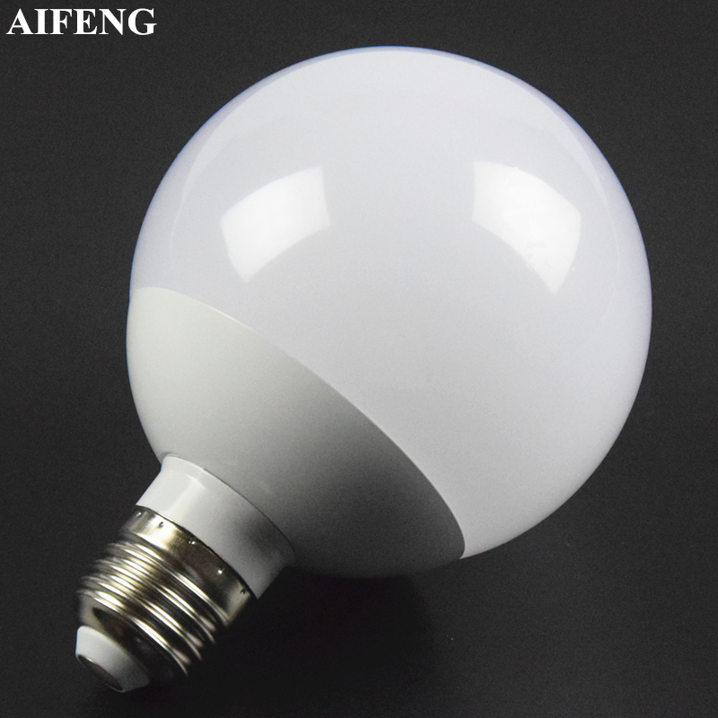 AIFENG Led Bulb A90 Globe Bulb Dimmable Lampada 12W SMD 5730 Led Light E27 Energy Saving Lamps For Wedding Chandelier Decoration