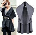 Free Shipping/Hot Sale Women's Fashion Wool Coat, Ladies' Noble Elegant Cape/Shawl. ladies poncho wrap scarves coat