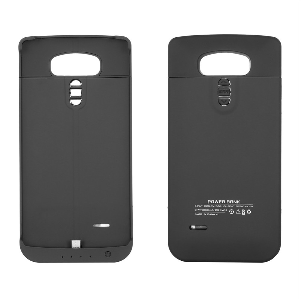 3800mAh External Backup Extend Pack Smart Mobile font b Phone b font Battery Charger Case for