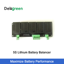 QNBBM 5S Active Balancer Equalizer BMS for LiFePO4, LTO, Li-ion 18650 DIY battery Pack balancing 1pcs qnbbm 1s battery equalizer single cell lithium lifepo4 li ion 18650diy battery balancer bms lifepo4 polymer lto pack