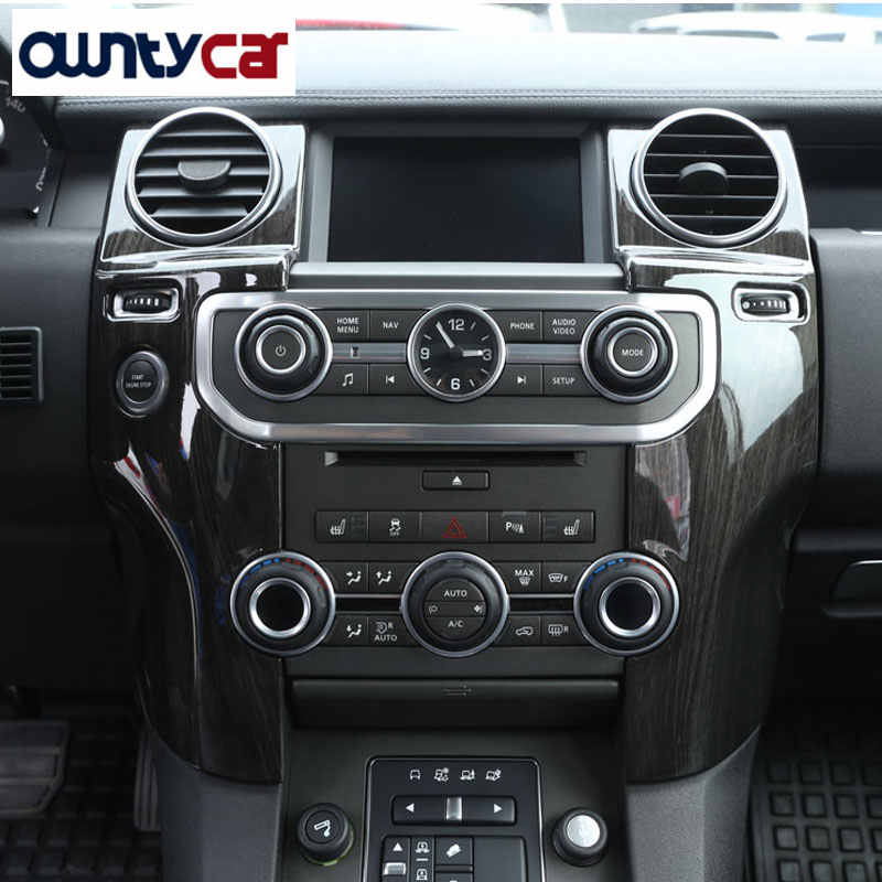 YIWANG Inner Center Console Rear Air Vent Outlet Cover Trim for Land Rover Discovery 4 LR4 2009-2016