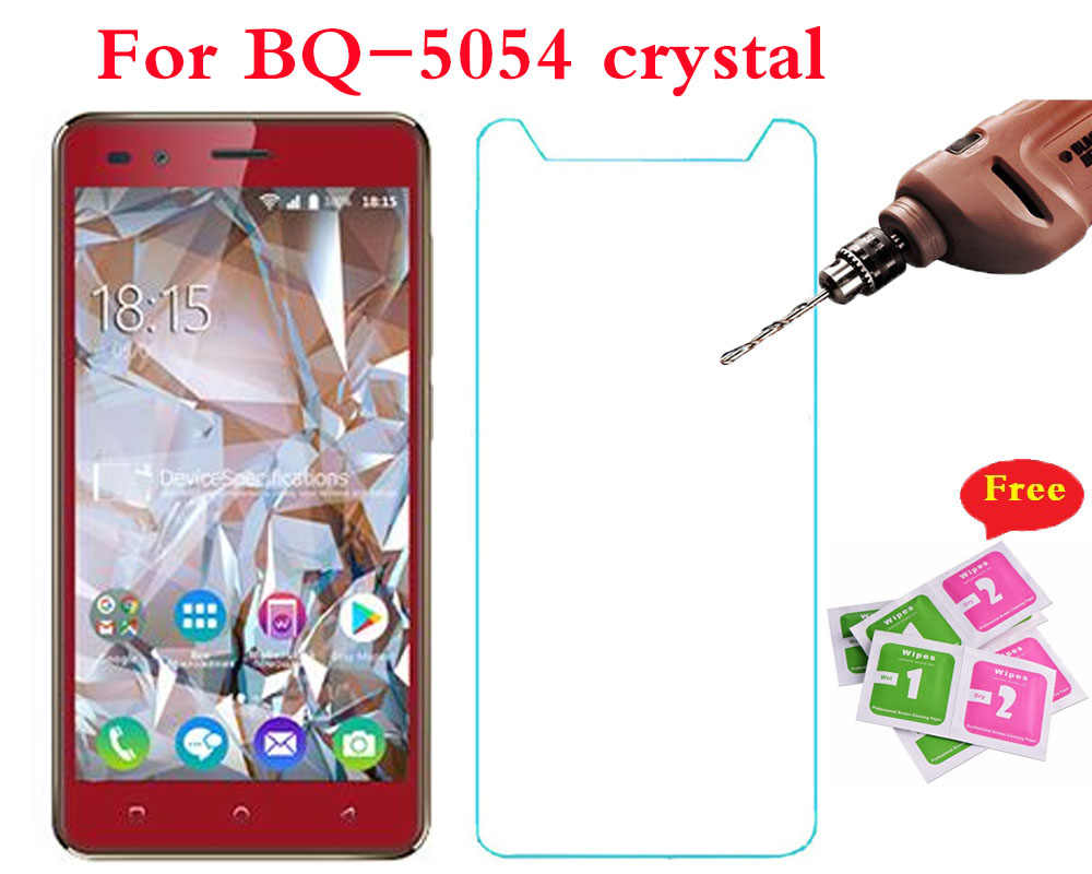 Tempered Glass For BQ-5054 crystal Explosion-proof Protective Front Film Screen Protector For BQ-5054 crystal