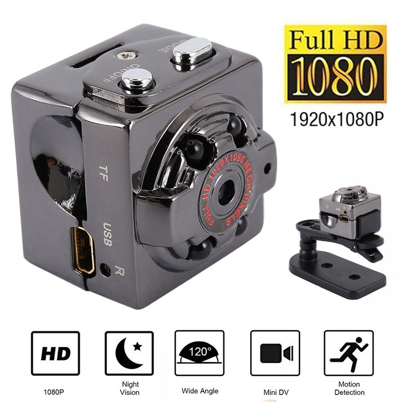 1080P Full HD Mini Camera Motion Detection Video Recorder Cam Night Vision Car Surveillance Camera Home Security