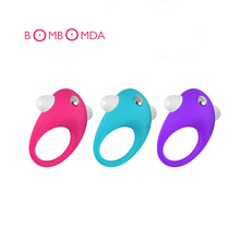 Vibrating Cock Ring Silicone Ring Penis Ring Sex Products For Men Penis Sleeve Extender