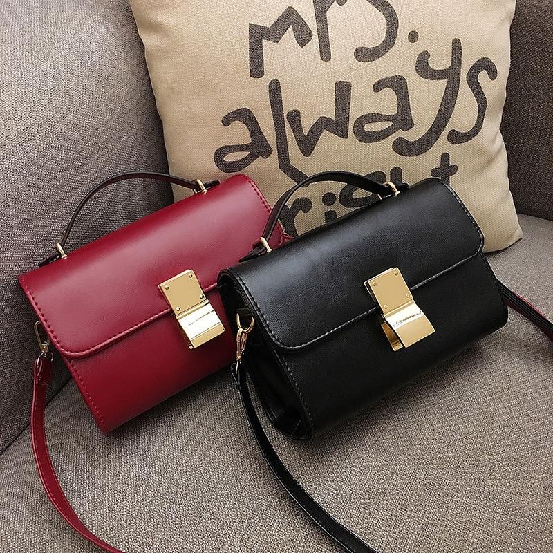 FEELINGBAGS Store Small Messenger bag 2017 Korean Fashion cross shoulder handbag with lock Romero Britto
