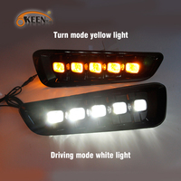 OKEEN 2pcs DRL Daytime Running Light for Ford Ranger Raptor F150 2017 2018 Auto Front Decorative Headlamps For Ford F150 2Colors