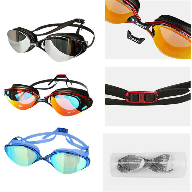 Professional Adjustable Plating Swimming Glasses