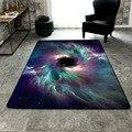 Vídeo do produto 8 Cores 3D Céu Estrelado Universo Padrões SML Tamanho Cadeira de Sala de estar Quarto Mesa Tapetes Tapete Para Casa alfombra