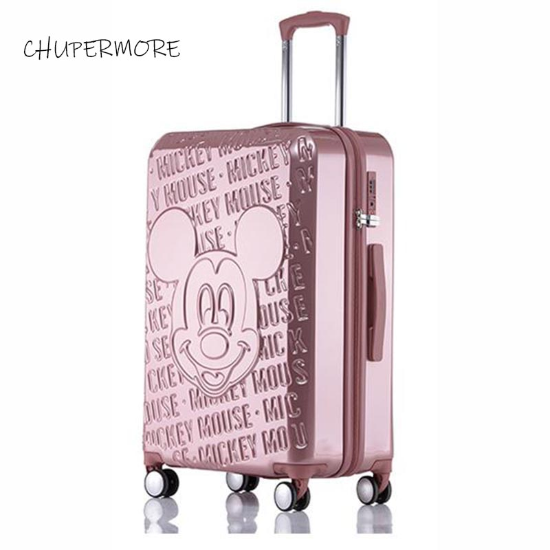 Cute Cartoon Rolling Luggage Spinner High Quality Brand Children Travel Bags Kids/girl/boys Suitcase Wheels Cabin Trolley
