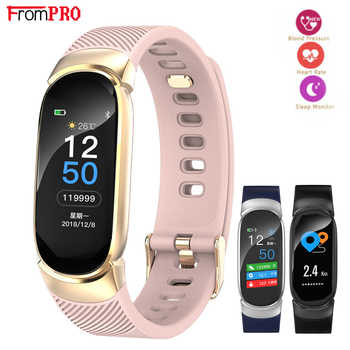 FROMPRO Smart Watch Men Women Outdoor Sport Fitness Bracelet Heart Rate Monitor Blood Pressure Oxygen Health Smart band QW16 - DISCOUNT ITEM  20% OFF All Category
