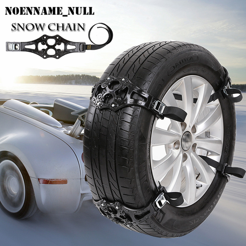 noenname null 1pc winter truck car snow chain black tire anti skid belt easy install simple 2017. Black Bedroom Furniture Sets. Home Design Ideas