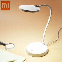 Original Xiao mi Yeelight mi jia COOWOO lámpara de escritorio LED lámparas de mesa Smart Dul Desklight USB No soporte mi hogar app Smart home kit