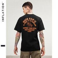 INFLATION 2017 New Arrivels Men S Summer Fashion Short Sleeve T Shirt Colorful Tops Hipster Skateboard