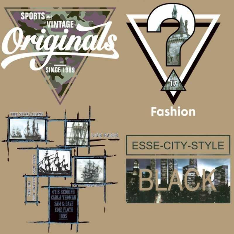 Beau t-shirt femmes bricolage pvc patch noir ville biker patchs pour vêtements transfert de chaleur impression vêtements pour autocollants livraison gratuite
