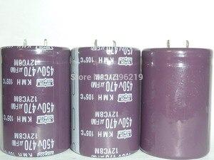 Image 1 - 1pcs 470uF 450V NIPPON Serie KMH 35x50mm 450V470uF condensatore Elettrolitico di Alluminio