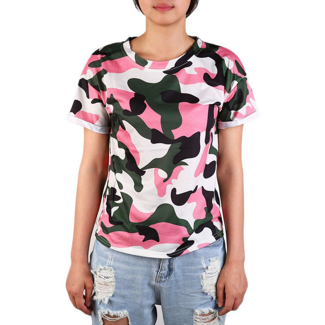 sexy Camo-Shirts