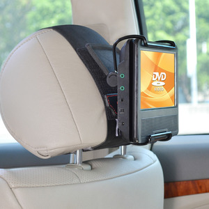 Image 4 - TFY Universal Car Headrest Mount Holder with Angle  Adjustable Holding Clamp for 7   10 Inch Swivel Screen Portable DVD Players,