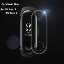 3pcs Mi Band 3 Screen Protector for Xiaomi 2 Protective Film Full Cover on Foil