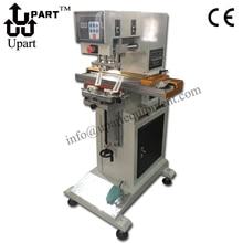 automatic ink cup transverse walk tampon machine, ruler tampo machine, plastic pad printing machine