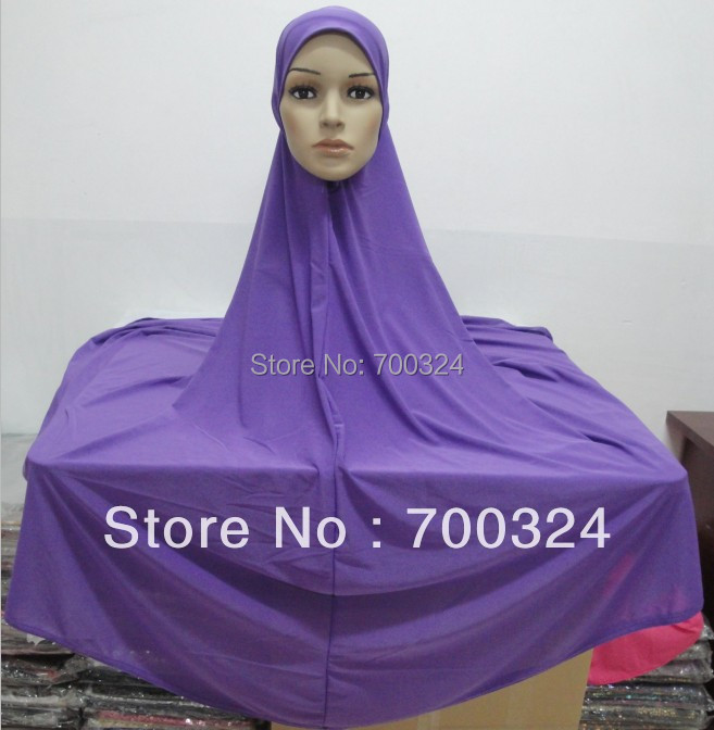 H620c new design plain big size muslim hijab fast delivery mixed colors