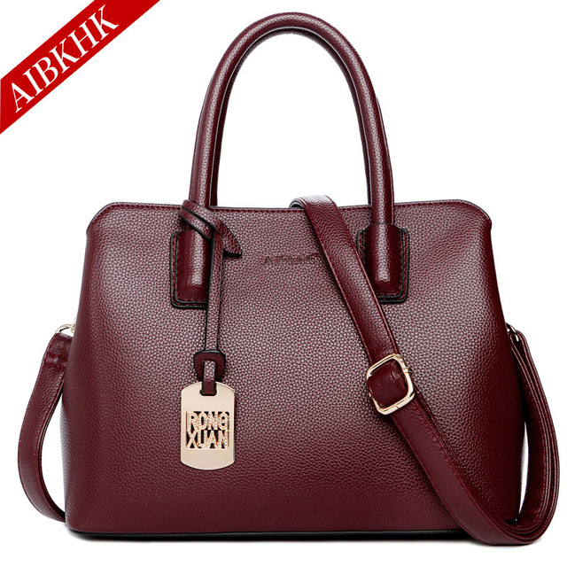 Luxury Brand Handbags Genuine Leather Casual Totes Crossbody Bags for Women  2018 Fashion Ladies Handbag Shoulder Messenger Bag 42d5bbfb4963b