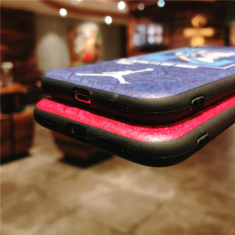 KEFO Ultra Thin Michael Jordan TPU Soft Case For Iphone X 10 5S SE 6 6S 7 8 Plus Fashion Sport NBA Star Flyman Jordan Back Cover (9)