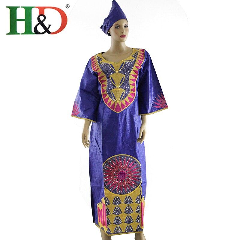 Últimos Diseños de Moda Africana Bazin Riche Africano tradicional ...