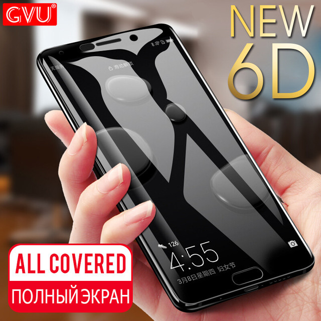 GVU 6D Full Cover Tempered Glass For Huawei Mate 10 9 Lite...