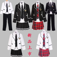 long sleeved Students school uniforms Japan and South Korea JK uniforms junior high school boys and girls students suit