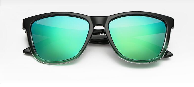 Gradient Frame men sunglasses women polarized uv400 high quality Women fishing Driving Outdoor Sports Glasses blue Lens uv400