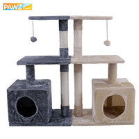 Fashion Domestic Delivery Cat Trees Cat Climb Frame Cat Furniture Scratchers Pet Supplies 2 Colors Functional Kitten Play Toys