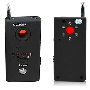 Newly Wireless Hidden Camera GSM Device Audio Bug Finder GPS Signal Laser Lens RF Tracker Anti Spy Detector CC308+