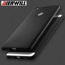 New Litchi Pattern Case For Xiaomi Redmi Note 4X 5A Case TPU Ultra Thin PU Texture Silicon Back Cover For Xiaomi Mi A1 5X Case