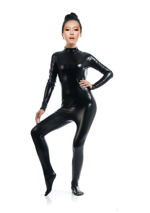 Shiny fetish bodysuit