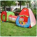 Parque Infantil bebé 3 En 1 Juego Casa de Juego Tent Kids Tubería bebé Corralito Piscina de Bolas Tienda Corralito Bebé Parque Infantil de Interior Al Aire Libre