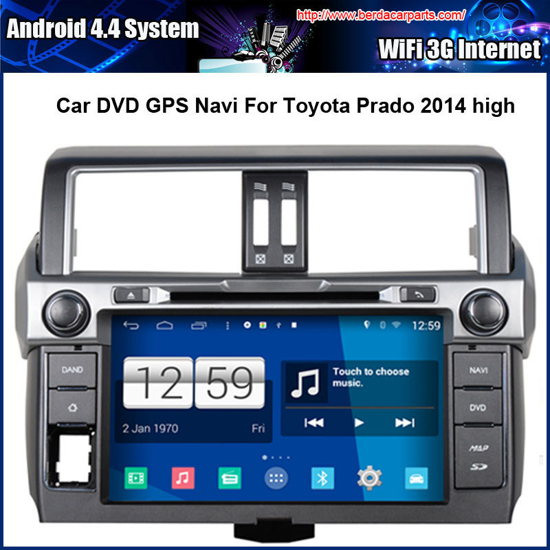 Android 4 4 4 1024 600 Capacitive Screen 1 6G CPU Quad Core Car DVD For