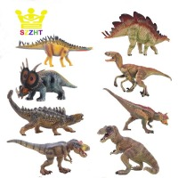 Dinosaur Toys Indominus Rex Jurassic Training Figures Set Tyrannosaurus REX Puppet Educational Animal Model Toy for Children