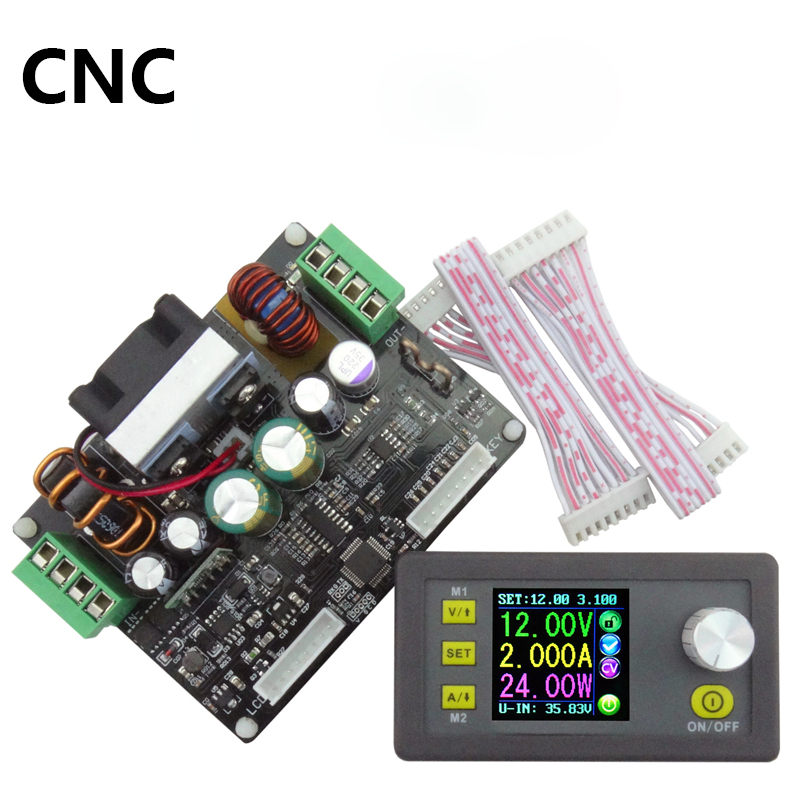 High-power, adjustable automatic buck module, NC DC power supply, 5V12V24V voltage regulator module free shipping digita 200 000 lux tester meter 4 range lcd digital light meter luxmeter tester luminometer photometer